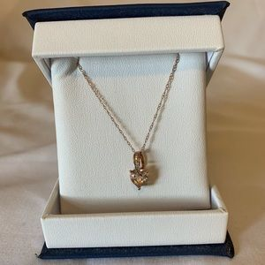 Rose Gold Heart shaped Necklace